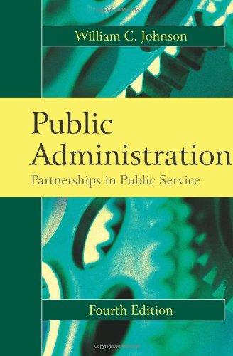Public Administration: Johnson