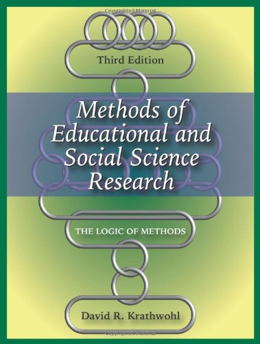 Methods of Educational and Social Science Research: David R. Krathwohl