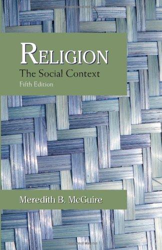 9781577665779: Religion: The Social Context