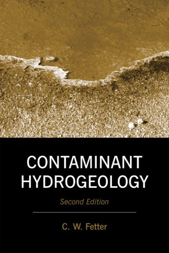 9781577665830: Contaminant Hydrogeology