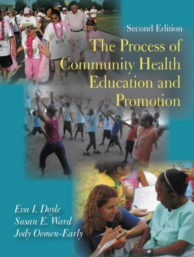 9781577666103: Process of Community Health Education and Promotion