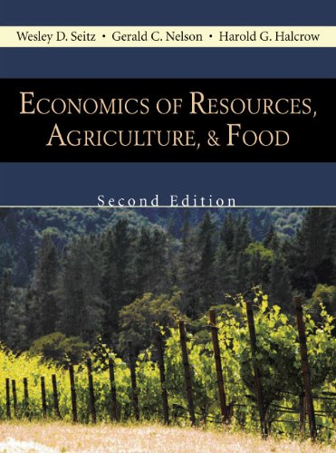9781577666240: Economics of Resources, Agriculture, & Food