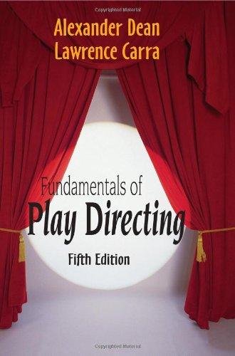 Fundamentals of Play Directing: Dean, Alexander