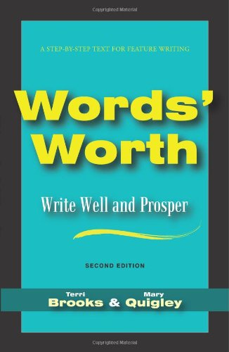 9781577666776: Words' Worth: Write Well and Prosper