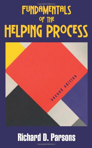 Fundamentals of the Helping Process 9781577667162 Authoritative yet accessible, Fundamentals of the Helping Process, Second Edition, meets the training and skill-development needs of novice and experienced practitioners. The realm of professional helpers has grown to include community workers, educators, clergy, paraprofessionals, and peer counselors. Tapping the most recent research, Parsons introduces readers to theories, techniques, skills, and processes within a framework that prizes and respects unconditional valuing and care--the hallmarks of human helping. The latest edition includes discussions of a solution-focused approach, materials reflecting stage-based models of change, expanded coverage of the value and utility of  theory  as the framework of reflective practice, and  Keystones of Helping,  succinct reminders of each chapter's main points. Engaging real-life cases demonstrate the applicability of key concepts, and interactive exercises animate skill development and personal reflection. Titles of related interest also by Waveland Press: Crosson-Tower, From the Eye of the Storm: The Experiences of a Child Welfare Worker (ISBN 9781478629399) and Kagle-Kopels, Social Work Records, Third Edition (ISBN 9781577665465).