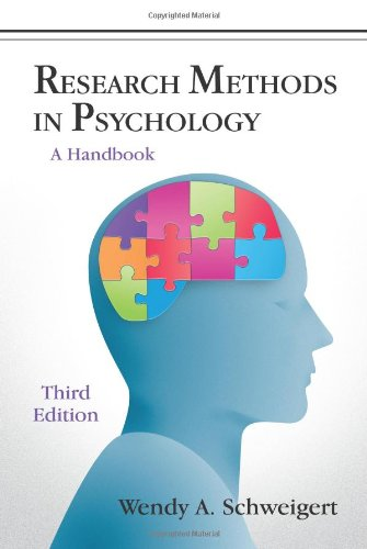 Research Methods in Psychology: A Handbook