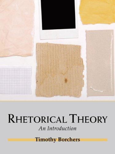 9781577667315: Rhetorical Theory: An Introduction