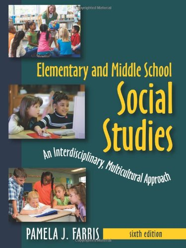 9781577667346: Elementary and Middle School Social Studies: An Interdisciplinary, Multicultural Approach