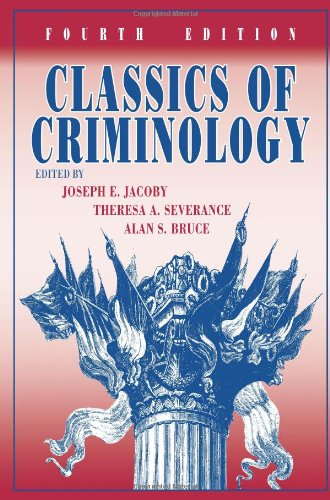 9781577667360: Classics of Criminology, 4th Edition