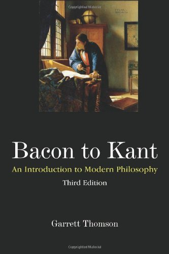 9781577667537: Bacon to Kant: An Introduction to Modern Philosophy