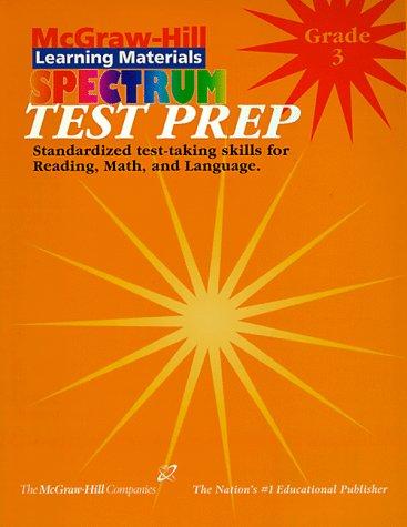 9781577681038: Spectrum Test Prep Grade 3 (McGraw-Hill Learning Materials Spectrum)