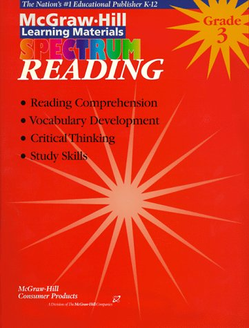 Reading Grade 3 (McGraw-Hill Learning Materials Spectrum): Douglas, Vincent