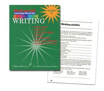 9781577681465: Writing Grade 6 (McGraw-Hill Learning Materials Spectrum)