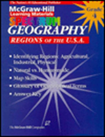 9781577681540: McGraw-Hill Spectrum Geography, Grade 4: Regions of the U.S.A.