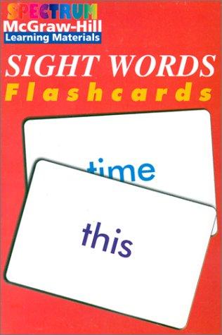 9781577681601: Spectrum Sight Words Flashcards (Spectrum Flashcards)