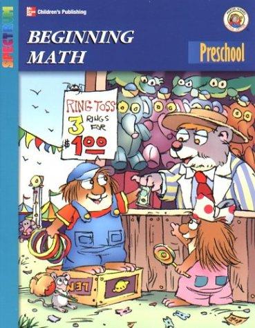 Spectrum Beginning Math, Preschool (Little Critter Preschool Spectrum Workbooks) (9781577685791) by Mercer Mayer