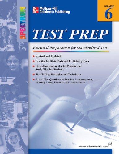 Spectrum Test Prep, Grade 6: Spectrum