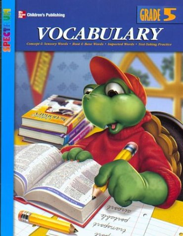 9781577687955: Spectrum Vocabulary, Grade 5