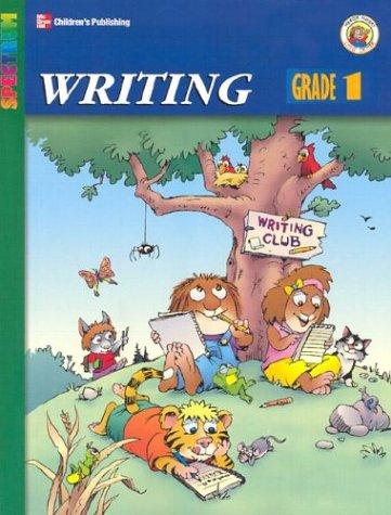 9781577688518: Spectrum Writing, Grade 1 (McGraw-Hill Spectrum Workbooks: Mercer Mayer)