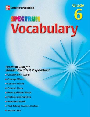 9781577689065: Spectrum Vocabulary, Grade 6