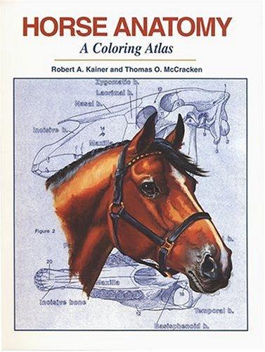 9781577790174: Horse Anatomy: A Coloring Atlas