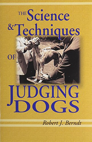 9781577790921: The Science and Techniques of Judging Dogs