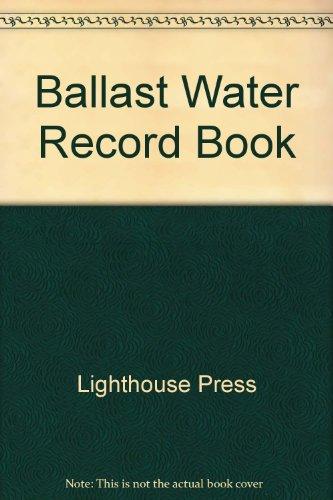9781577856412: Ballast Water Record Book