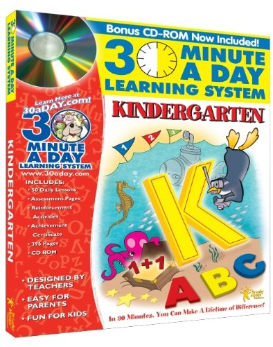 30 Minute a Day Learning System: Kindergarten: Brighter Minds Media