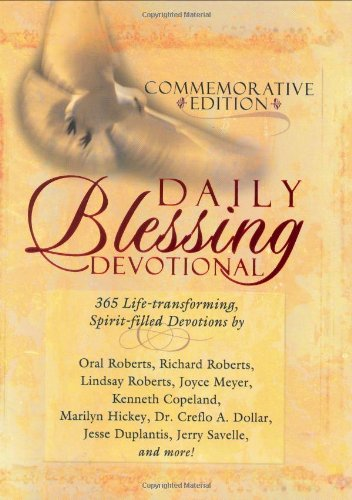 9781577947097: Daily Blessing Devotional: 365 Life-Transforming, Spirit-Filled Devotions