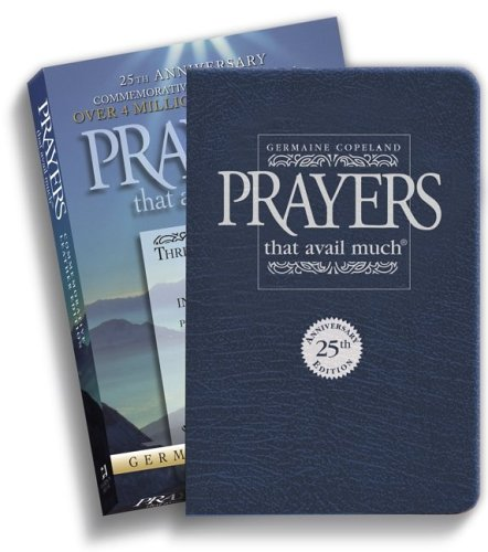 9781577947547: Prayers That Avail Much: 25th Anniversary Commemorative Leather Edition, Navy