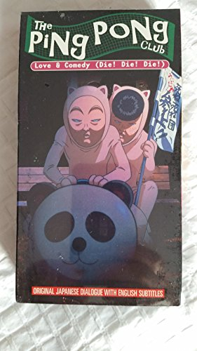 9781578002214: Ping Pong Club:Love & Comedy (Die! Die! Die!) [VHS]