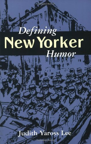 9781578061983: Defining New Yorker Humor (Studies in Popular Culture (Paperback))