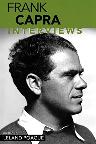 9781578066179: Frank Capra: Interviews (Conversations With Filmmakers Series)