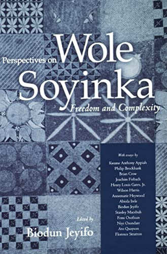 9781578069309: Perspectives on Wole Soyinka: Freedom and Complexity