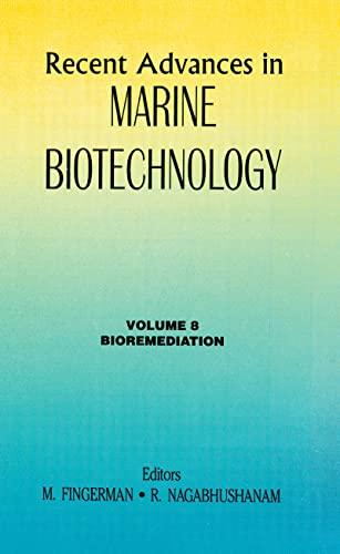 recent advances marine biotechnology - Books - AbeBooks