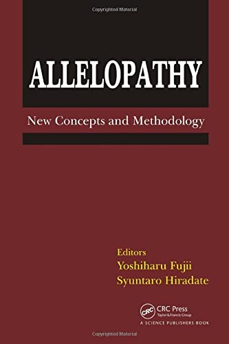 Allelopathy: New Concepts and Methodology (Hardback)