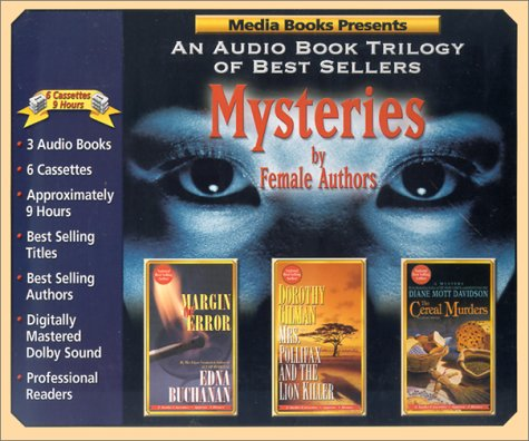 9781578152544: Mysteries by Female Authors: Margin of Error / Mrs. Pollifax and the Lion Killer / The Cereal Murders