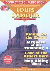 9781578155262: Riding for the Brand/McQueen of the Tumbling K/Law of the Desert Born/Man Riding West