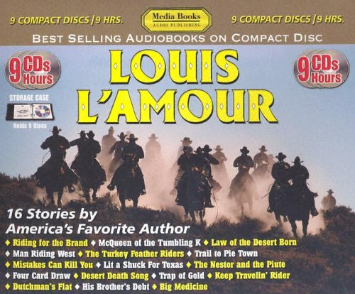 Louis L'Amour CD Box Set Includes: Four Card Draw, Keep Travelin' Rider, Dutchmans Flat, ...