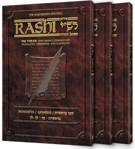 9781578190973: Sapirstein Edition Rashi: The Torah with Rashi's Commentary Translated, Annotated and Elucidated, Deuteronomy [Devarim] in Vol. 1-3 [Personal Size, Slipcase]