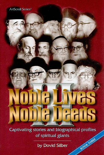 9781578193622: Noble Lives Noble Deeds, Book 3: Captivating Stories and Biographical Profiles of Spiritual Giants