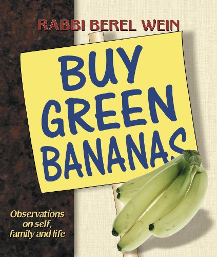 Buy Green Bananas: Observations on Self, Family: Wein, Berel