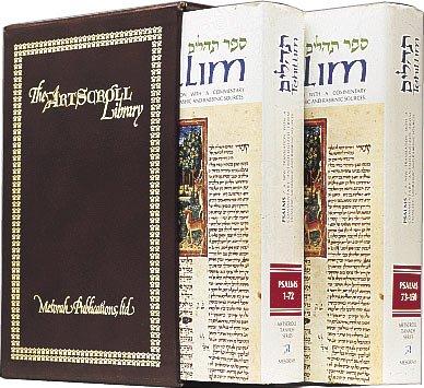 9781578199419: Tehillim / Psalms - 2 Volume Slipcased Set