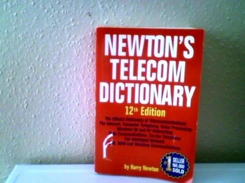 9781578200085: Newton's Telecom Dictionary