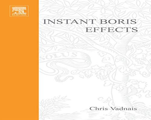 9781578202621: Instant Boris Effects (Instant Series)