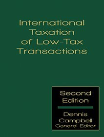 9781578232895: International Taxation of Low-Tax Transactions - Second Edition