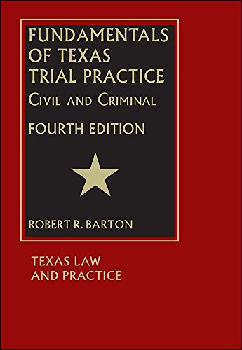 9781578233779: Fundamentals of Texas Trial Practice - Fourth Edition