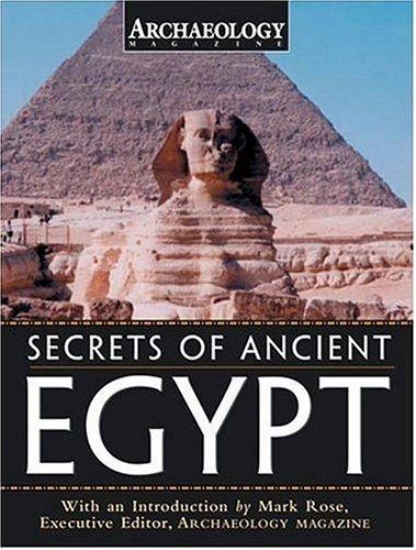 Secrets of Ancient Egypt: Magazine, Archaeology