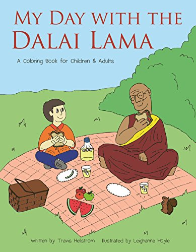 9781578266395: My Day with the Dalai Lama: A Coloring Book for All Ages