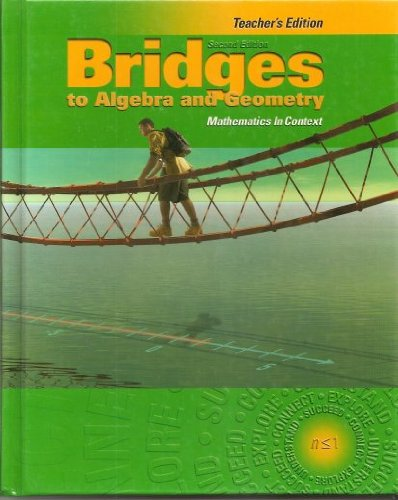 9781578373420: Cord Communications Bridges To Algebra Geometry Mathematics In Context 2Nd Edition Teacher Edition 2004 Isbn 1578373425
